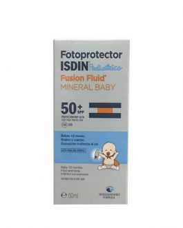 FOTOPROTECTOR ISDIN SPF-50+ FUSION FLUID MINERAL PEDIATRICS BABY 50 ML