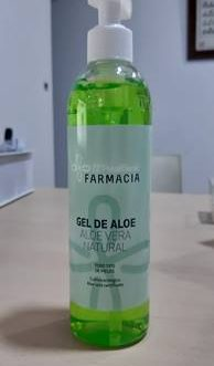 GEL DE ALOE PERELLONET 290 ML.