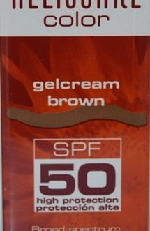 HELIOCARE SPF 50 GELCREAM BROWN COLOR 50 ML.