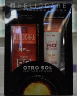 HELIOCARE PACK XF GEL 50 +SPRAY 50