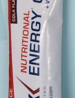 NUTRITIONAL ENERGY GEL ETIXX